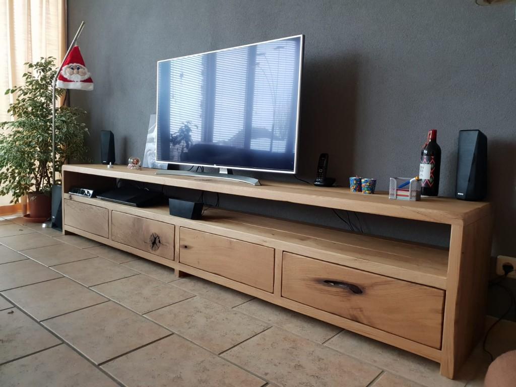 Tv Meubel Bas.Tv Meubel Barnwood Wood Living Wood Living